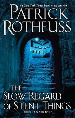 The Slow Regard of Silent Things by Patrick Rothfuss (English) Hardcover Book Fr
