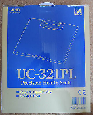 A&D Medical. Precision Health Scale UC-321PL