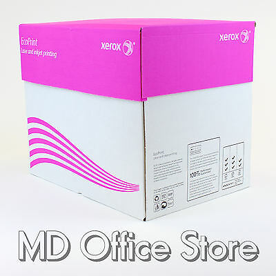 Xerox White A4 Quality Office Inkjet Laser Printer Copier Paper Ream or 2500 Box