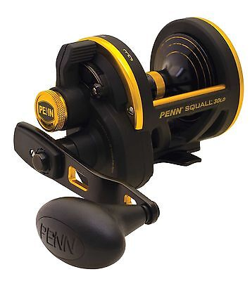 Penn Squall Lever Drag Multiplier Trolling Sea Fishing Reel – All Sizes Offered