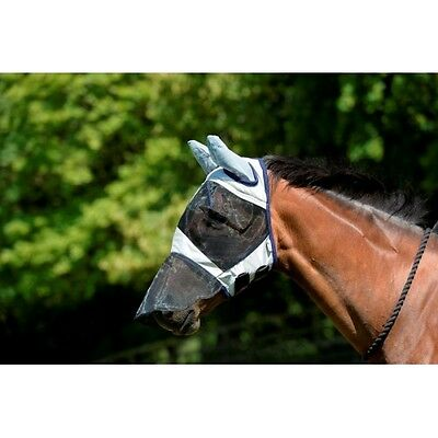 Masta - Horse Fly Mask - 3 Options - Face - Face & Ears Or Face, Ears & Nose