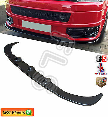 Vw T5 Transporter Front Lower Splitter Bumper Lip Facelife Sportline Style