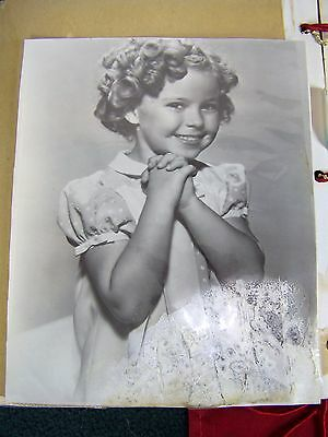 Shirley Temple Scrapbook Photos Newspaper Article 12 Pictures Child Star