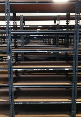 Commercial Shelving 8X4X2