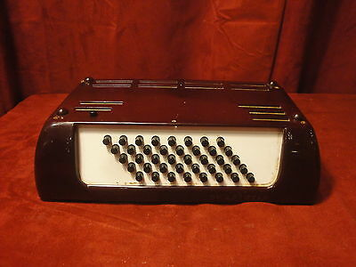 Hohner Starlet Accordion Part - Bass Section, Rods, Pads, 40 Bass