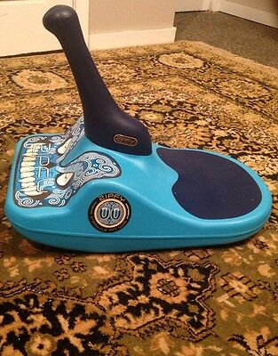 Zipfy Classic Freestyle Mini Luge Snow Sled Special Artists Series Blue