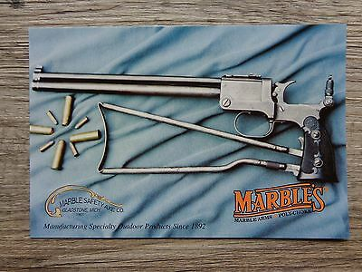 Marble's - Marble Arms - Marble Safety Axe Co. (1st Style Gamegetter) Postcard
