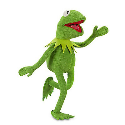 45cm The Muppets Exclusive Frog Plush Figure Kermit Toy Doll Xmas Gift