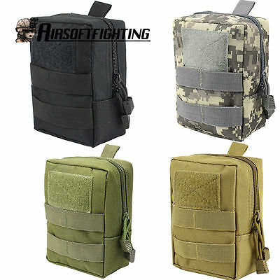 Tactical Waist Bag 1000D Magzine Accessory Medical Pouch Waterproof Hunting CS