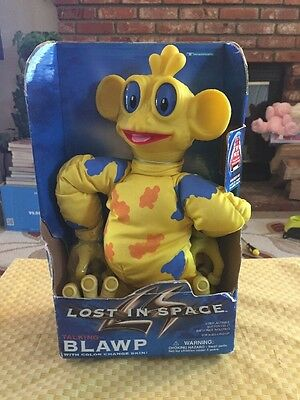 "Trendmasters 1997 Lost in Space BLAWP 17"" Talking Alien Plush Doll Stuffed Toy"