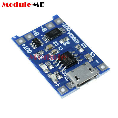 5pcs 5V 1A USB 18650 Lithium Battery Charging Board Charger Module Protection ME