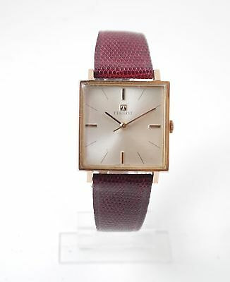 Tissot Gold Filled Square 1960s Men's Watch Mechanical (Hand-winding)