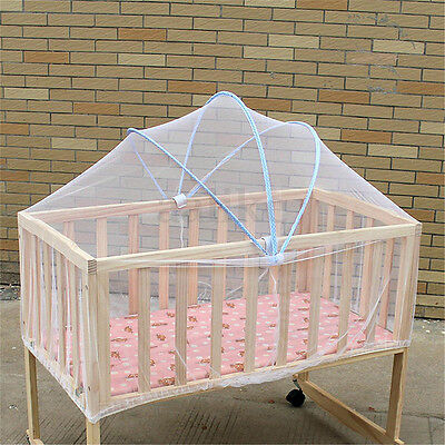 Baby Cradle Bed Canopy Tent Toddler Crib Cot Safe Mosquitos Net Netting Mesh