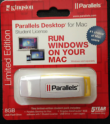 kingston Parallels Desktop for mac - Limited Edition Student License