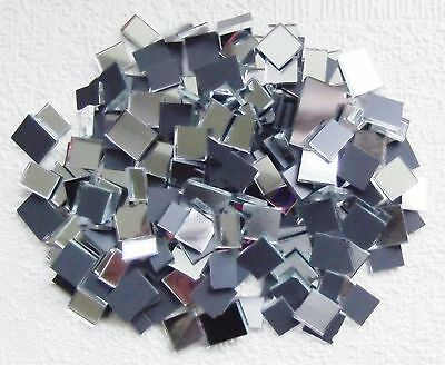 YK * SPECIAL * 100grms MOSAIC  MIRROR  GLASS  PIECES  *  2mm Thick
