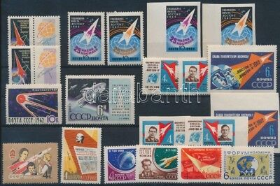 USSR stamp 1961-1962 Space Exploration 20 diff sets with sets MNH 1961 WS201019