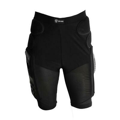 Motorcycle Bike Padded Hip Protector Body Armour Cycle Shorts Black