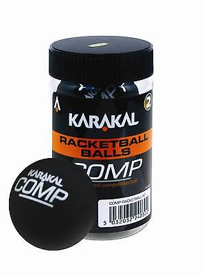 Karakal Sealed Tube Of Competition Racket Ball Balls
