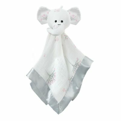aden + anais 100% Cotton Muslin Musy Mate Lovey (For The Birds Elephant)