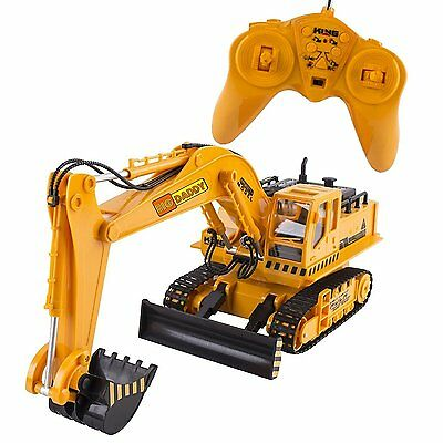 Big-Daddy Full Functional Excavator, Electric Rc Remote Control Construction Toy