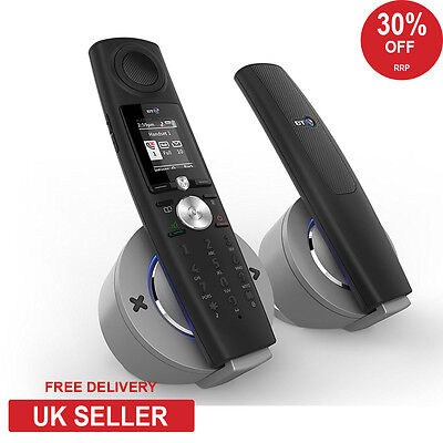 BT 9500 Halo TWIN Nuisance Call Blocking Cordless Home Phone - Bluetooth - Answe