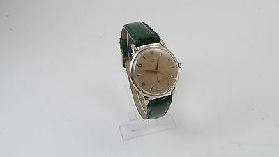 Vintage Zenith gold star watch with seconds mechanical hand-winding metal