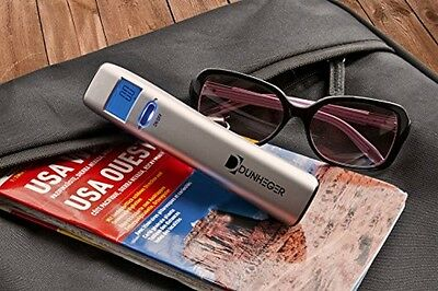 Digital Luggage Scale Dunheger 110 lb FREE: Carrying Bag + E-Guide + AAA