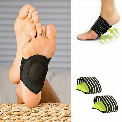 Orthotics Foot Arch Support Strap Wedge Insole Brace Plantar Grips Pads Relax