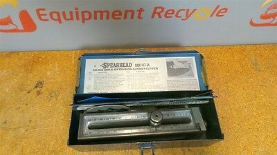 Spearhead Adjustable Extension Gasket Cutter HD747-A USA