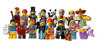 New Lego Collectible Minifigures Series Movie 71004 Complete Set 16 Minifigs