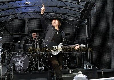 "Richie Sambora Bon Jovi Photo 8x12 or 8x10"" Live Concert 2011 Manchester UK s19"