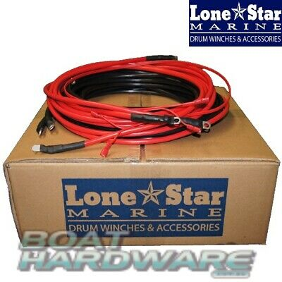 Universal Anchor Winch WIRING LOOM Cable Tinned Copper Wire suit to 5.5m Boats