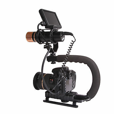 C Shape Bracket Video Handle Handheld Stabilizer Grip for Camera DSLR Camcorder