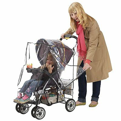 J is for Jeep Deluxe Stroller Weather Shield, Baby Rain Cover, Universal Size,