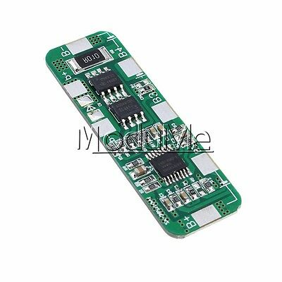 4A-5A BMS Protection Board for 3 Packs 18650 Li-ion lithium Battery Cell 3S M