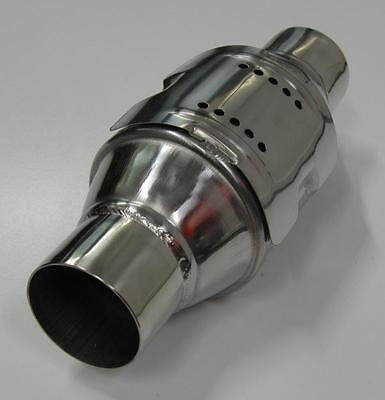 """2.25"""" Stainless Steel High Flow Catalytic Cat Converter 100 Cell Cpi Race 4Wd"""