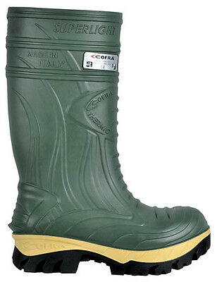 Cofra Thermic Safety Green Wellingtons Composite Toe Caps Midsole Metal Free Saf