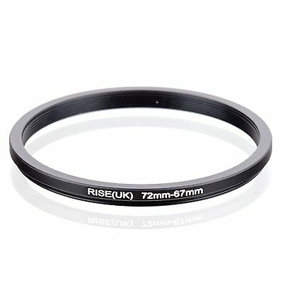RISE(UK) 72-67MM 72 MM- 67 MM 72 to 67 Step Down Ring Filter Adapter