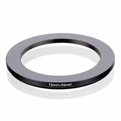 RISE(UK) 72-55MM 72 MM- 55 MM 72 to 55 Step Down Ring Filter Adapter