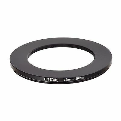 RISE(UK) 72-49 MM 72 MM- 49 MM 72 to 49 Step Down Ring Filter Adapter
