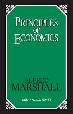 Principles of Economics by Alfred Marshall Paperback Book (English)