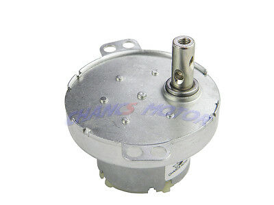 DC MOTOR 12V 10RPM Geared Brush Motor STOCK for Project Model Low Noise