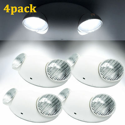 4pack Led Emergency Light High Output Lamp Home Safety Security Lighting US