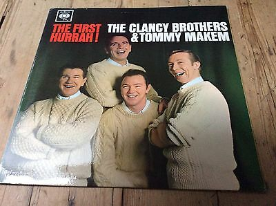 The Clancy Brothers & Tommy Makem - The First Hurrah! Ex+ Vinyl- First Pressing