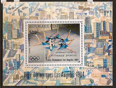 Rep. Central Africa 1984 Sport Olympic Sc # C302A Mnh
