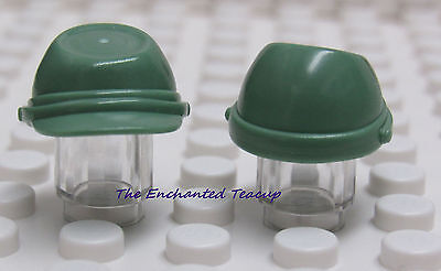 Headgear Kepi Cavalry Cap Green Sand x 5 Russian Guard Indian War NEW LEGO