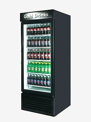 Cold Drink Single Door Reach In Cooler Refrigerator Brand New 27 Cu