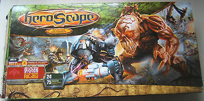 Heroscape Master Set 2 Swarm of the Marro Many Pieces in Box but Not Complete