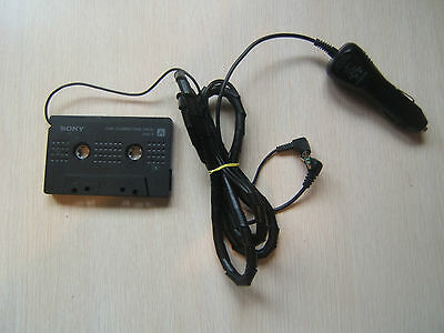 Sony Walkman Connecting Pack CPA-7 4.5V Car Charger Cassette to CD MP3 Untested