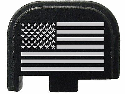 Fixxxer American US Flag Design Slide Cover Plate for Glock Fits 9mm G43